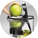 Kuvings CS600 Commercial Cold Press Juicer Juicing Apples